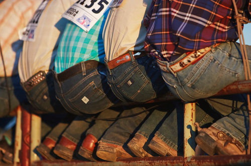 How to combine a sports coat cowboy boots and wranglers