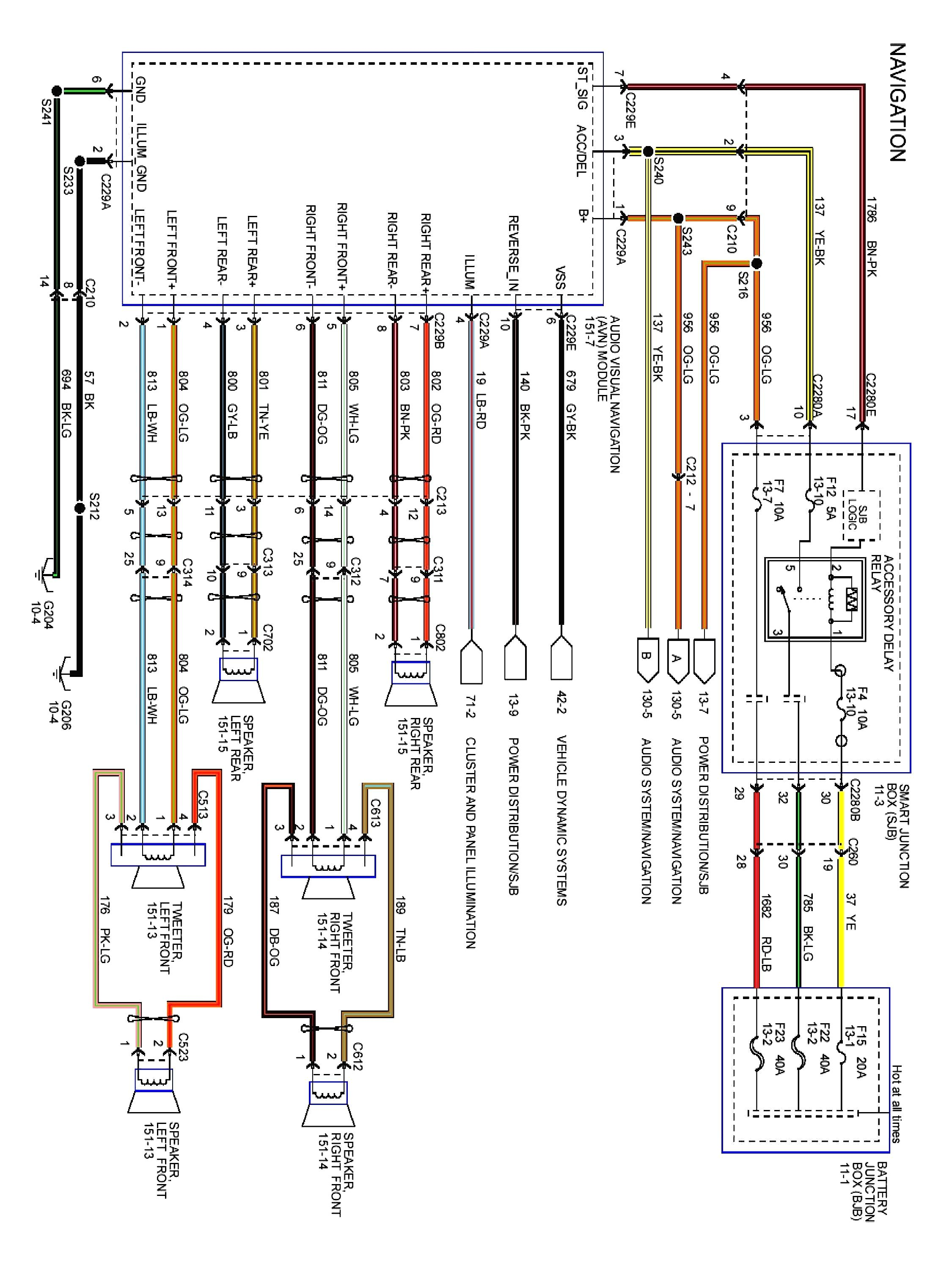 17 Great Ideas Of Ford Factory Amplifier Wiring Diagram Technique
