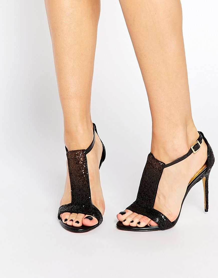 Buy Women Shoes / Ted Baker Pwimwrose 2 Crystal T Bar Heeled Sandals
