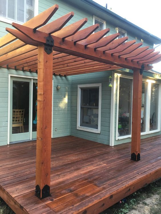 How To Determine Pergola Rafter Ing