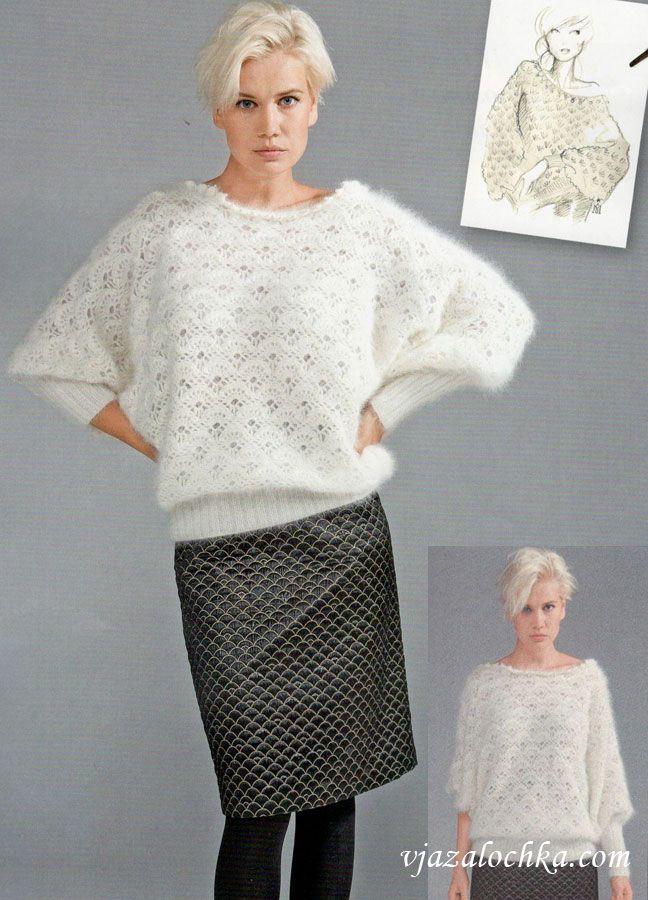 Картинки по запросу вязаный свитер летучая мышь