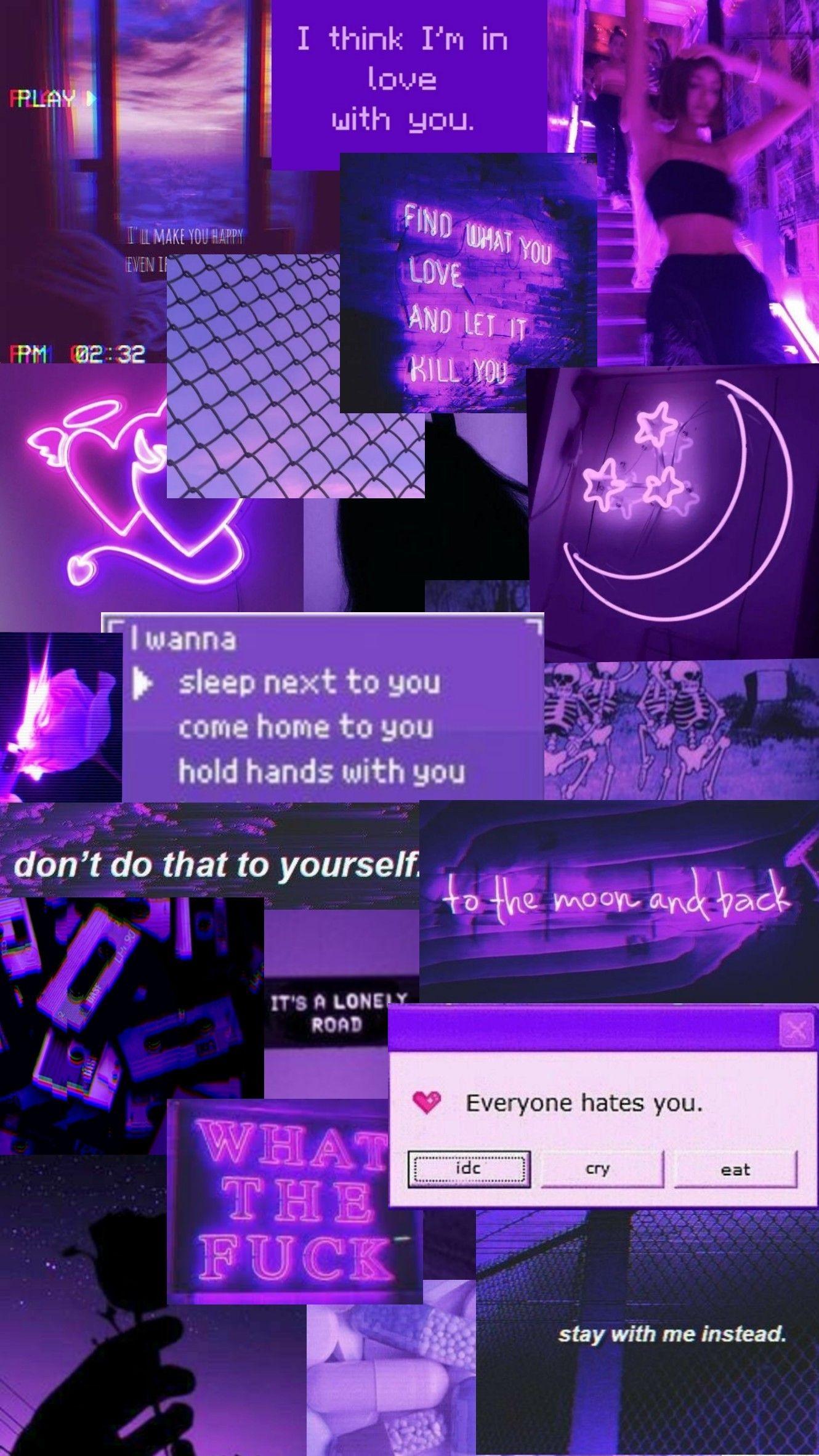 purple aesthetic aesthetic pastel wallpaper aesthetic