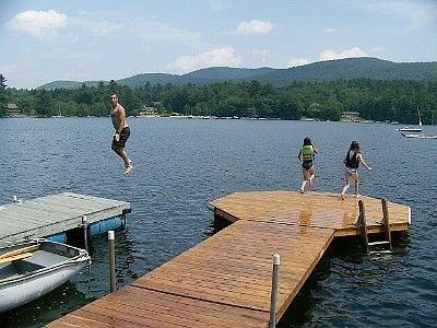 Newfound Lake Cottage Rental Secluded Waterfront Home On