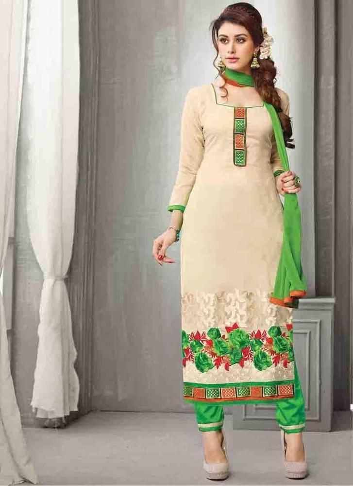Buy 1 Get 1 Free New Designer Indian Kameez Suit Dress Anarkali ...
