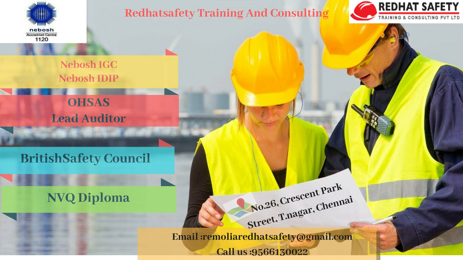 NEBOSH Courses in Chennai Occupational health and safety