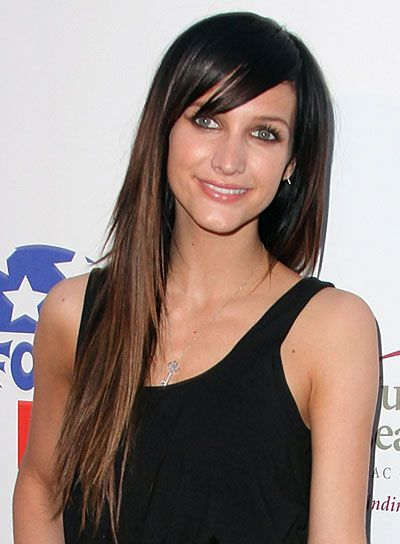Brunette Hairstyles Adorable Long Straight Hairstyles With Bangs  Brunette Hairstyles Ashlee
