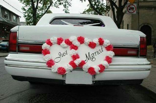 Pin By Fede Rivas On One Day Big Day Wedding Car Decorations