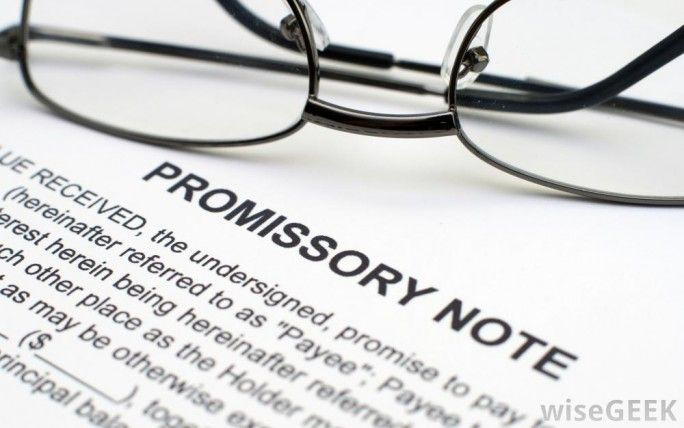 The Importance Of A Promissory Note When Loaning Money  Have You