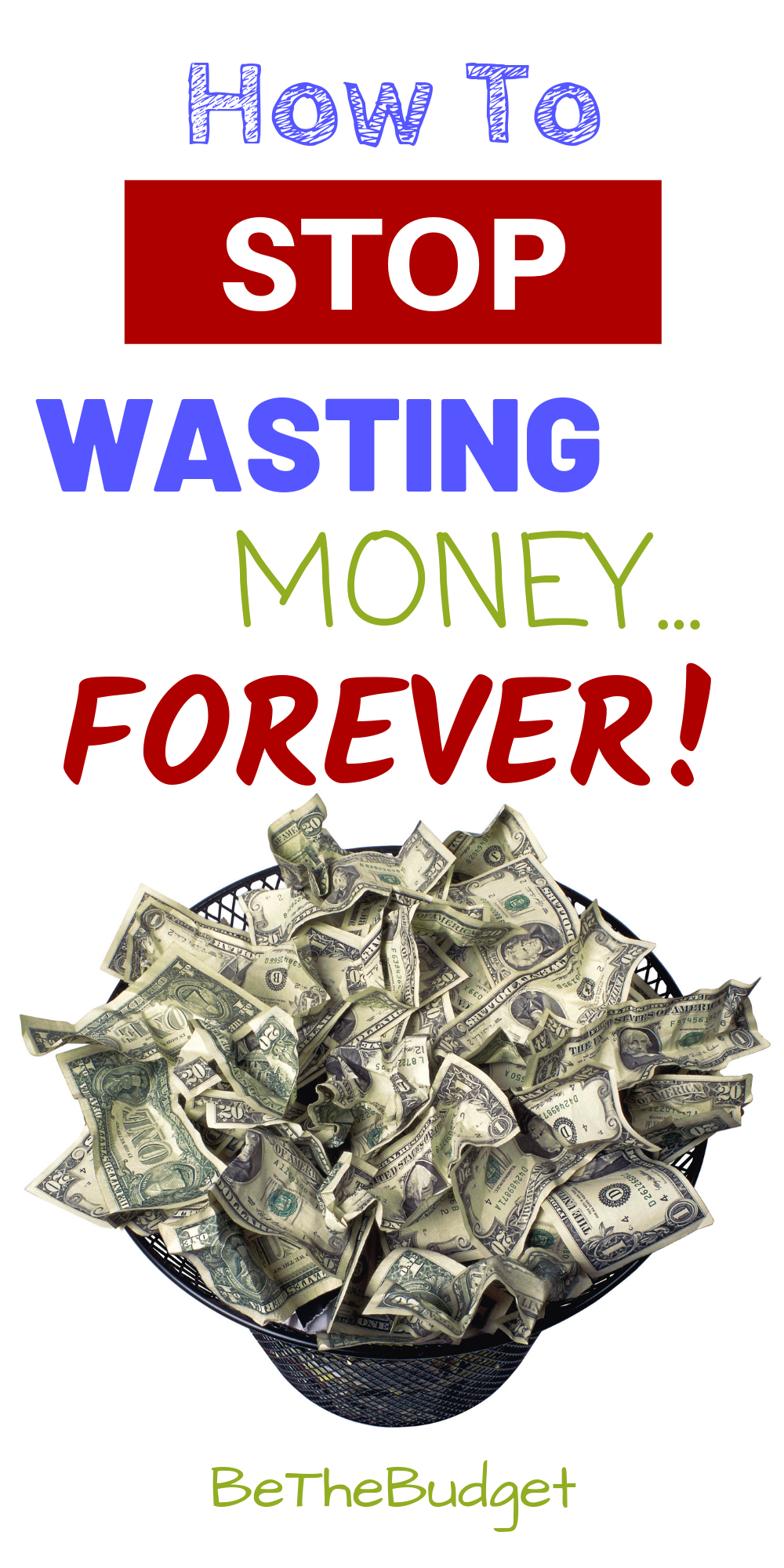 How To Stop Wasting Money (Food, Clothes, Travel, Pets
