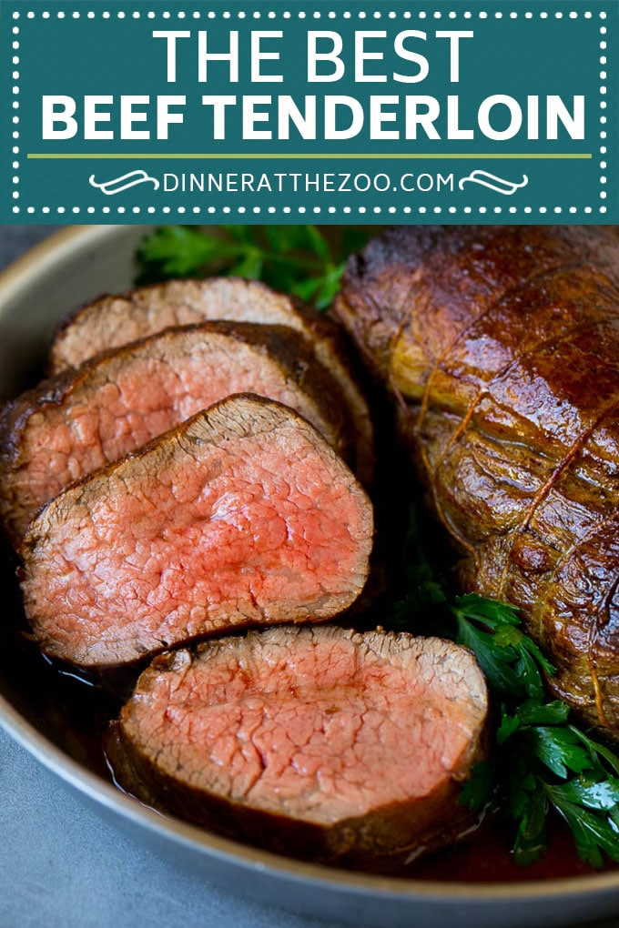 Beef Tenderloin with Garlic Butter - Dinner at the Zoo