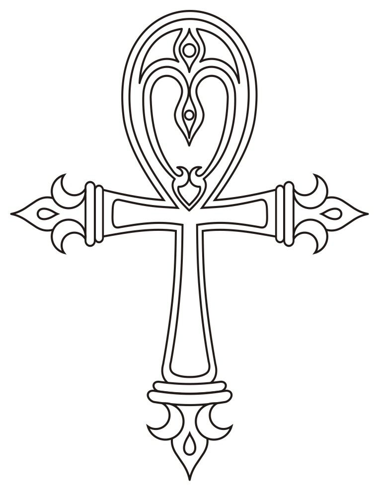 d4a0279374d61 Ankh cross design by morgenland.deviantart.com on @deviantART ...