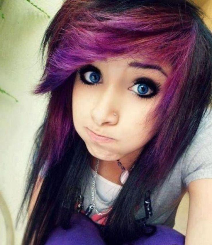 latest emo girls hairstyles