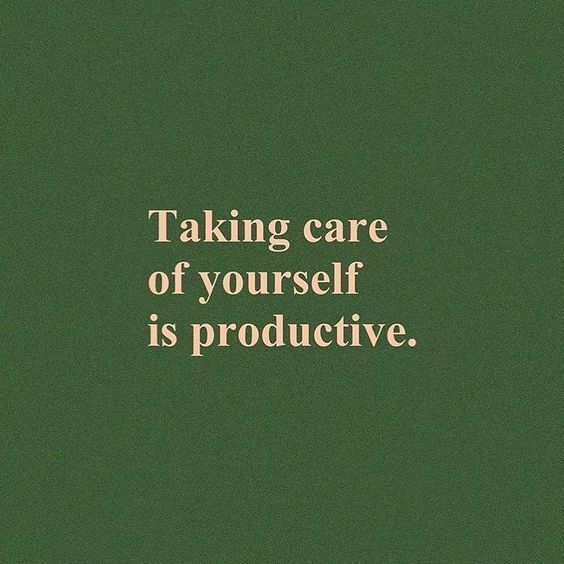 Self Care in the Time of Crisis