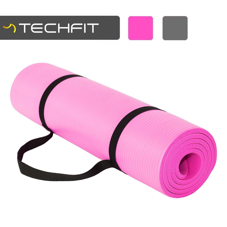 Yogaetsante Techfit Tapis De Yoga Et Fitness Extra Epais 10 Mm 15 Mm 180 X 60 Cm Parfait Pour Des Exercic Le Pilates Exercices Au Sol Accessoires De Yoga