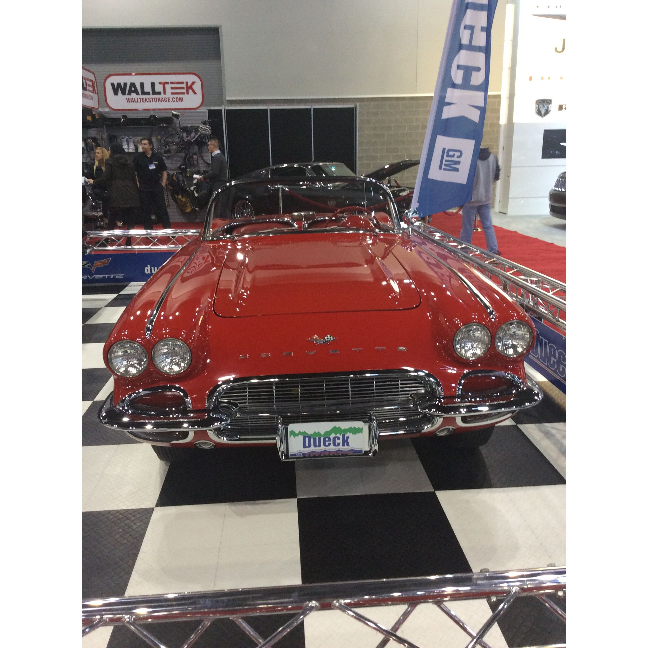 '61 Corvette from The Dueck Auto Group's Vintage Car Collection