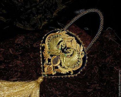 """Женские сумки ручной работы. Ярмарка Мастеров - ручная работа Сумочка """"Ренессанс"""" золотное шитье. Handmade."""