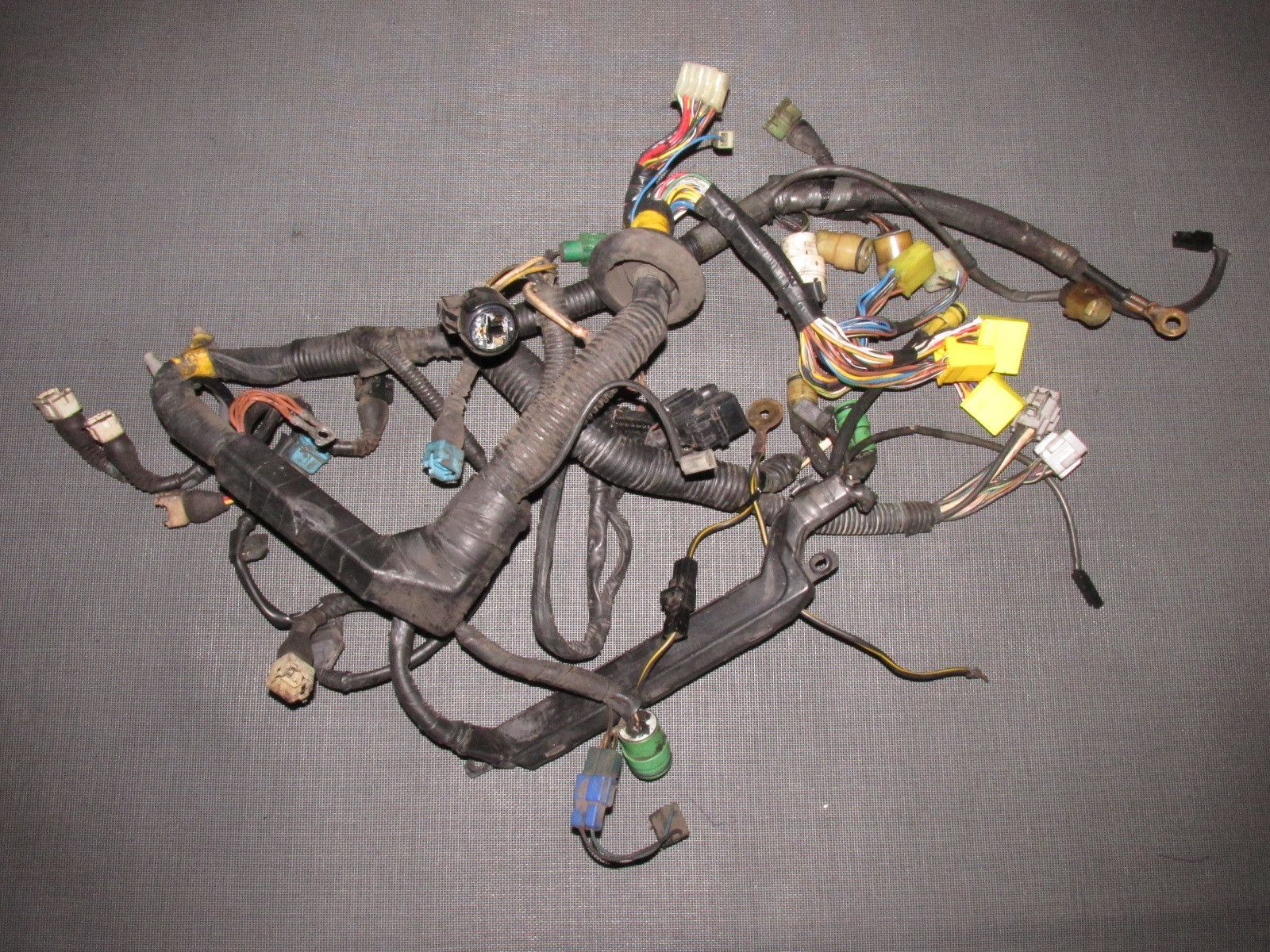hight resolution of 85 86 87 88 89 toyota mr2 oem 4age engine wiring harness cars wiring harness components