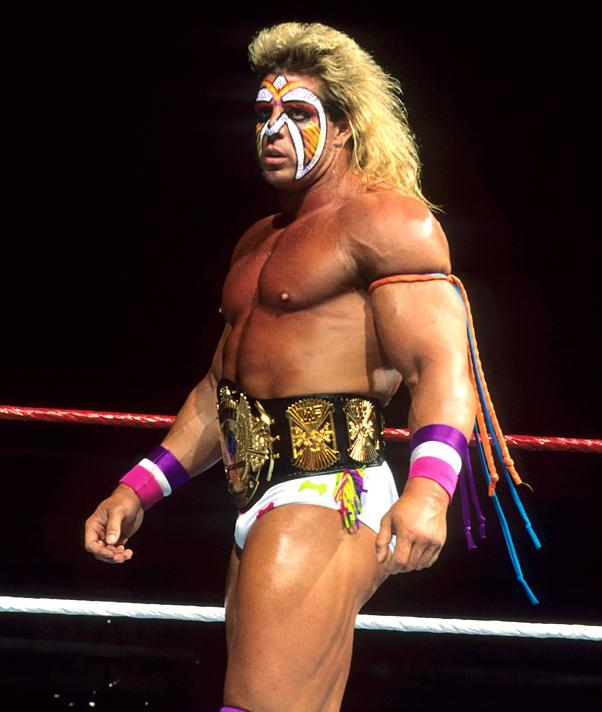 Ultimate Warrior Ultimate Warrior Wwe Legends Wwf Superstars