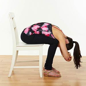 10 yoga stretches to do at your desk  office yoga poses