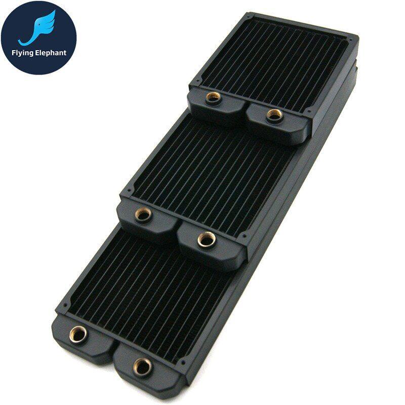 140 280 420 Case Water Cooling Radiator PC Copper Liquid