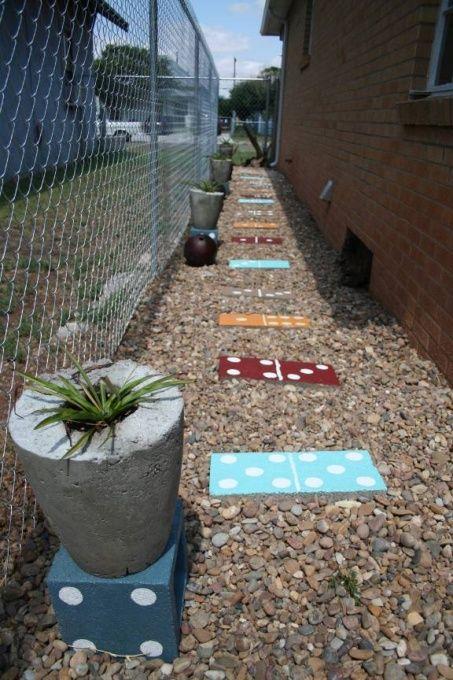 zero landscaping ideas cheap sidewalk ideas