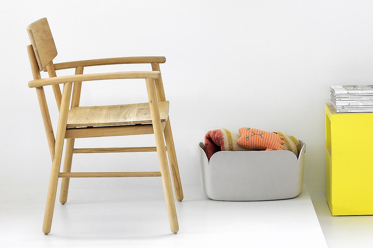 The Ethnicraft Bjorsing Armchair Is A Modern Take On A Classic Solid Wood Armchair