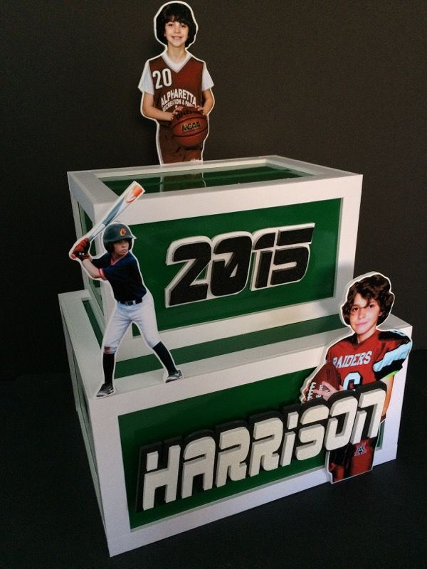 Harrison is into basketball, baseball and football. This gift card ...