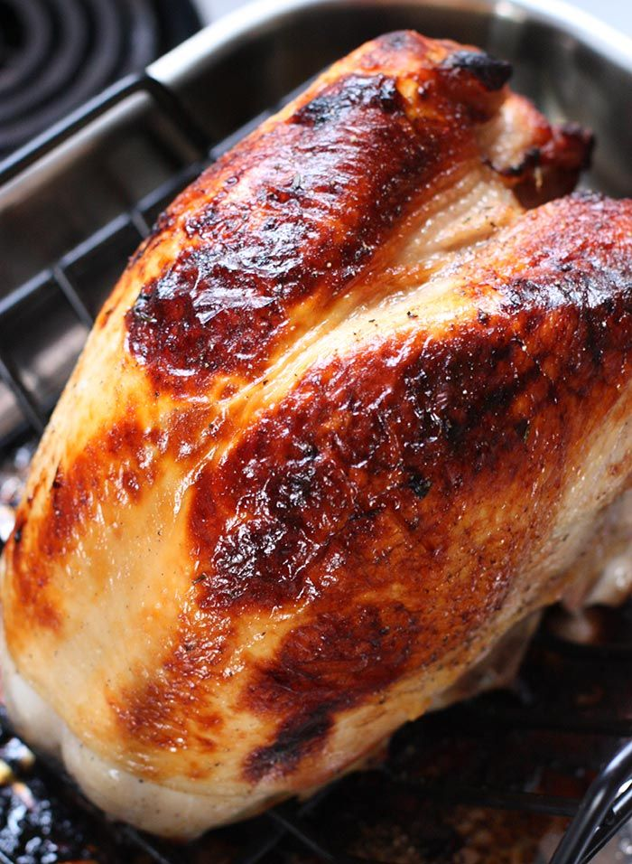 Roasting A Turkey For Two - Roasted Turkey Breast With An -6802