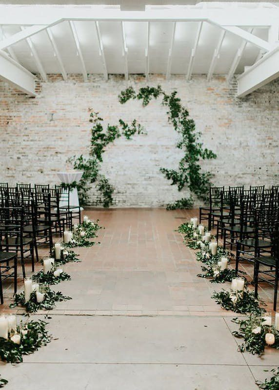 This Wedding Ceremony Decor Trend Was Made For The Plantlady