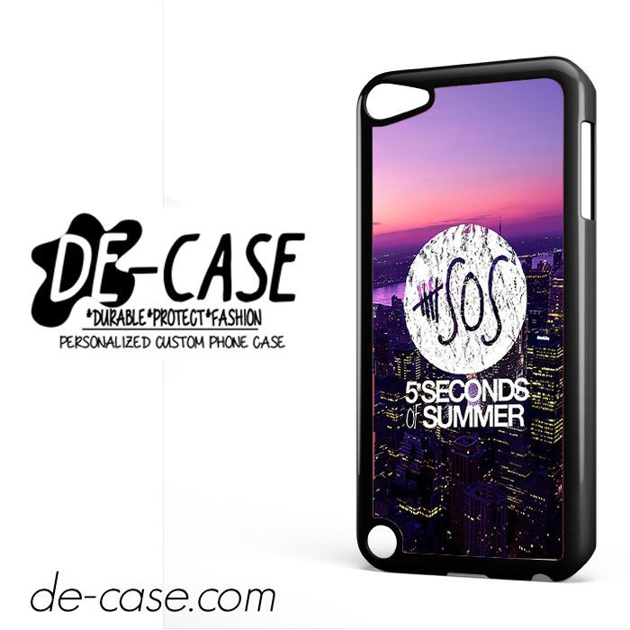 5 Seconds Of Summer 5SOS 5 SOS City Logo For Ipod 5 Ipod Touch 5 Case Phone Case Gift Present YO