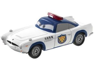Tomica Takara Tomy Disney Motors DM-12 Poppins Cop Minnie Japan Diecast Toy Car
