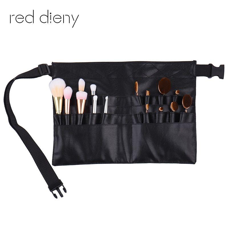 1dfea689ac5e Pro Makeup Brush Display Holder Case Bag Artist Belt Strap Cosmetic ...
