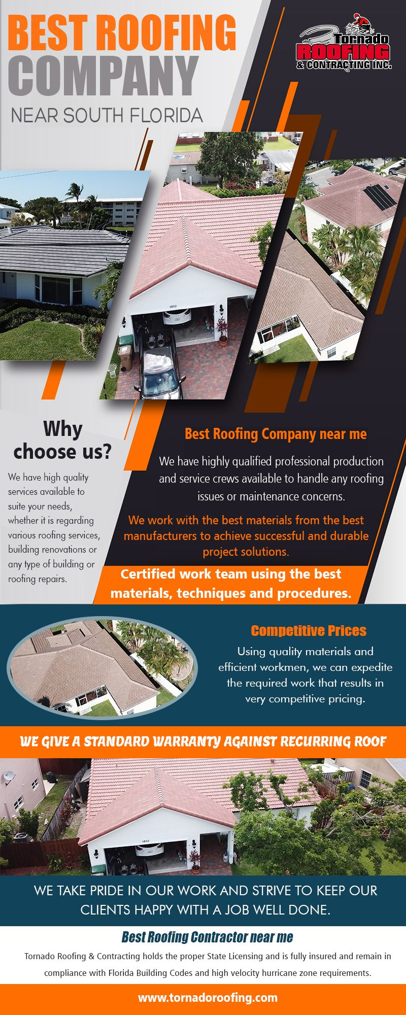 Best Roofing Company Near South Florida In 2020 Best Roofing Company Cool Roof Roofing Services