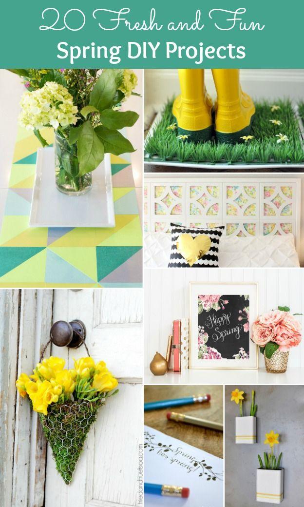 20 Fresh Fun Spring Diy Projects