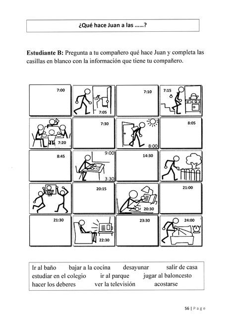 Level 2 Lesson 9 20 5 2017 A Que Hora Te Despiertas Normalmente