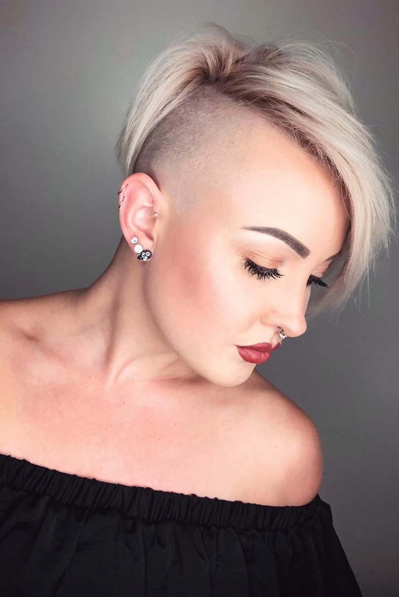 Haircut pixie asian women for energetic look catalog photo