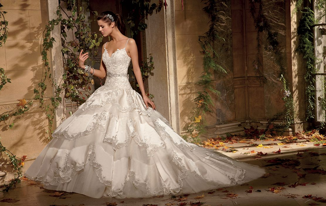 Eve Of Milady Bridal Gown Princess Ball Dropped Waist