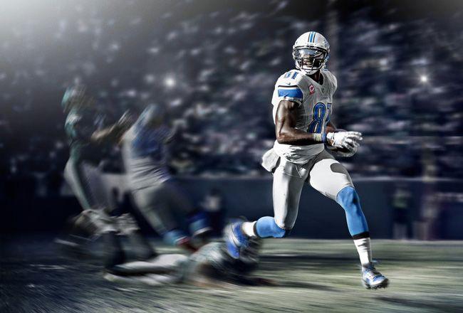 371aa7f3be1a Calvin Johnson's Nike CJ81 Elite TD   American Football   Calvin ...