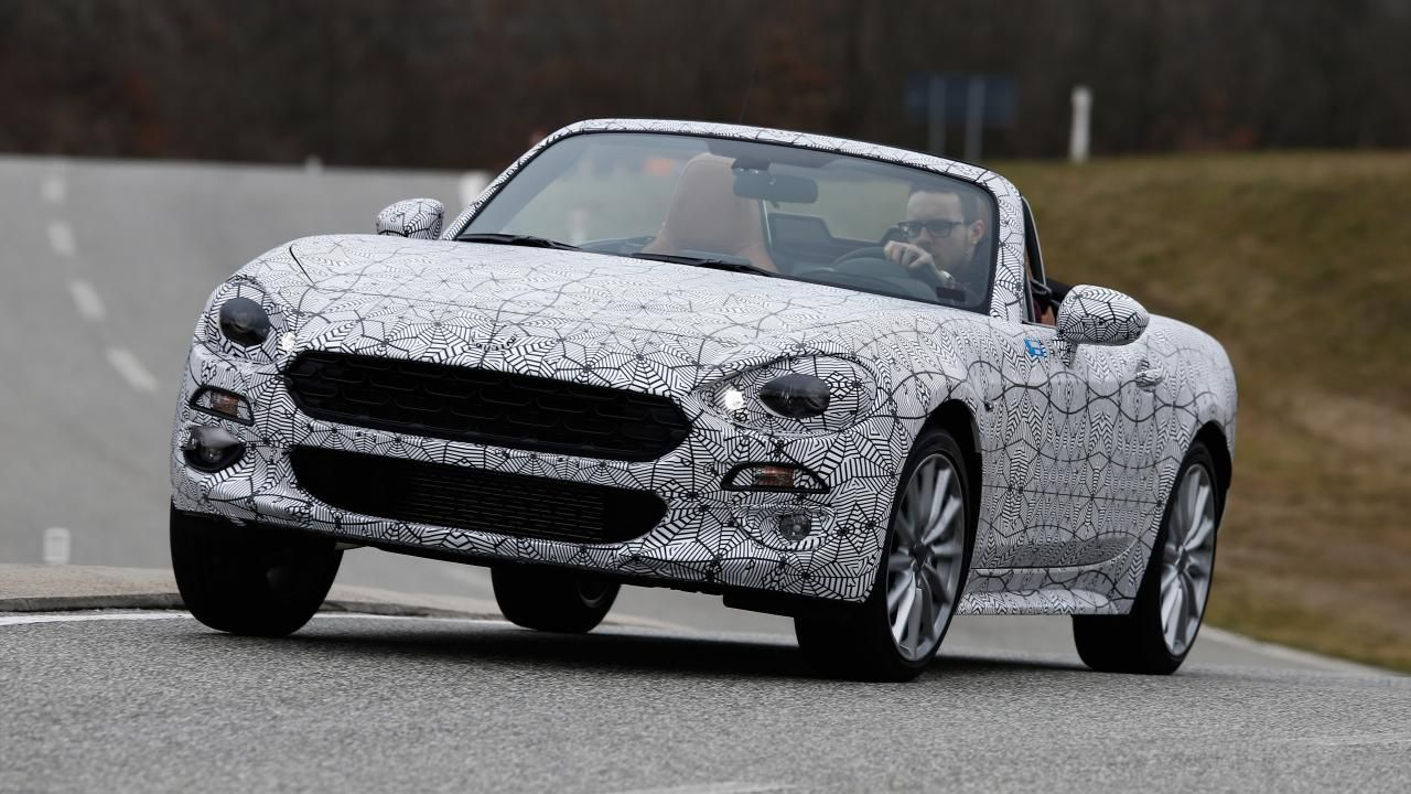 The Fiat 124Spider. is a 1.4-liter turbo four making 160 hp and 184 lb-ft of torque versus the Miata's 155 hp and 148 lb-ft. A six-speed manual and a six-speed. automatic will be offered with different gearing for quicker acceleration. Look for it in summer 2016. #performance  #dieseltuning  #car #carperformance #speedbox #chiptuning FROM 100£ • More at http://chiptuningbox.co.uk FREE SHIPPING WORLDWIDE