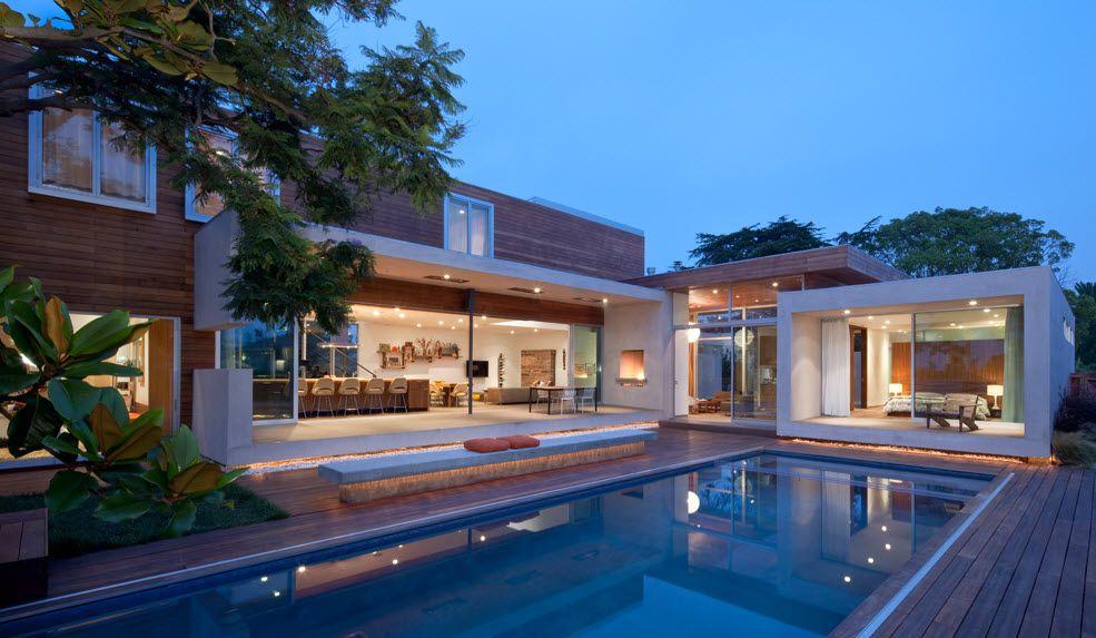 Fachada de casa moderna dos pisos casas pinterest - Fachadas grandes ...
