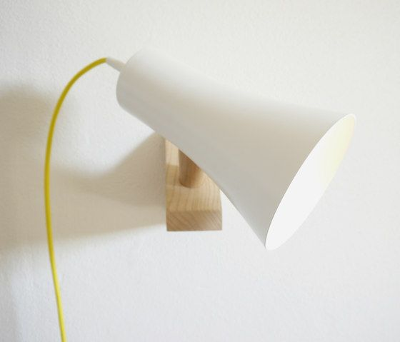Topsi wall luminaire by Hüttners   Reading lights