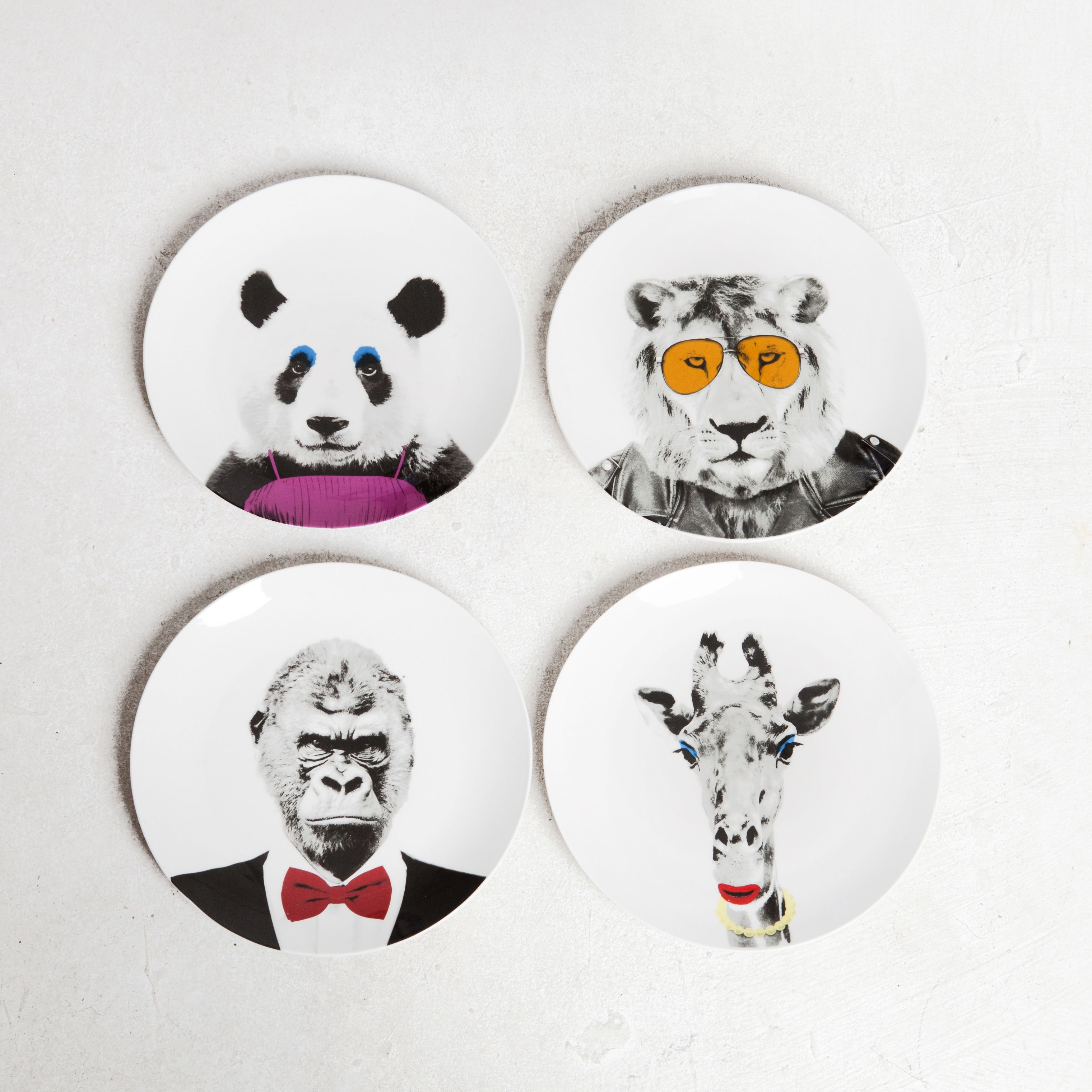 Wild Dining Party Animal Plates