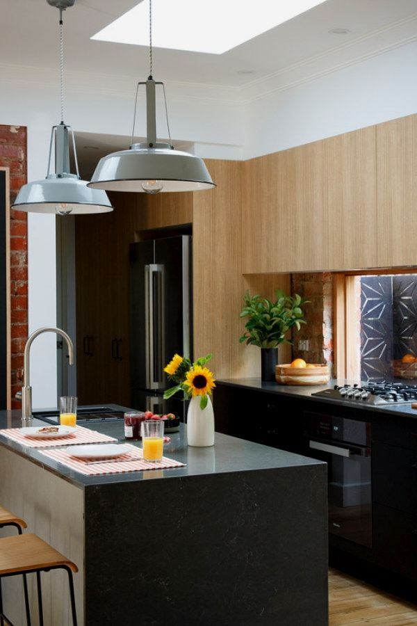 Bring some brick  steel to your living space stunning industrial kitchen decor ideas for urban lifestyle  also rh pinterest