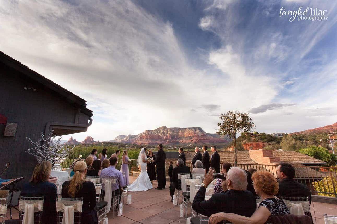 The Bridge at Hillside Sedona Weddings Northern Arizona ...