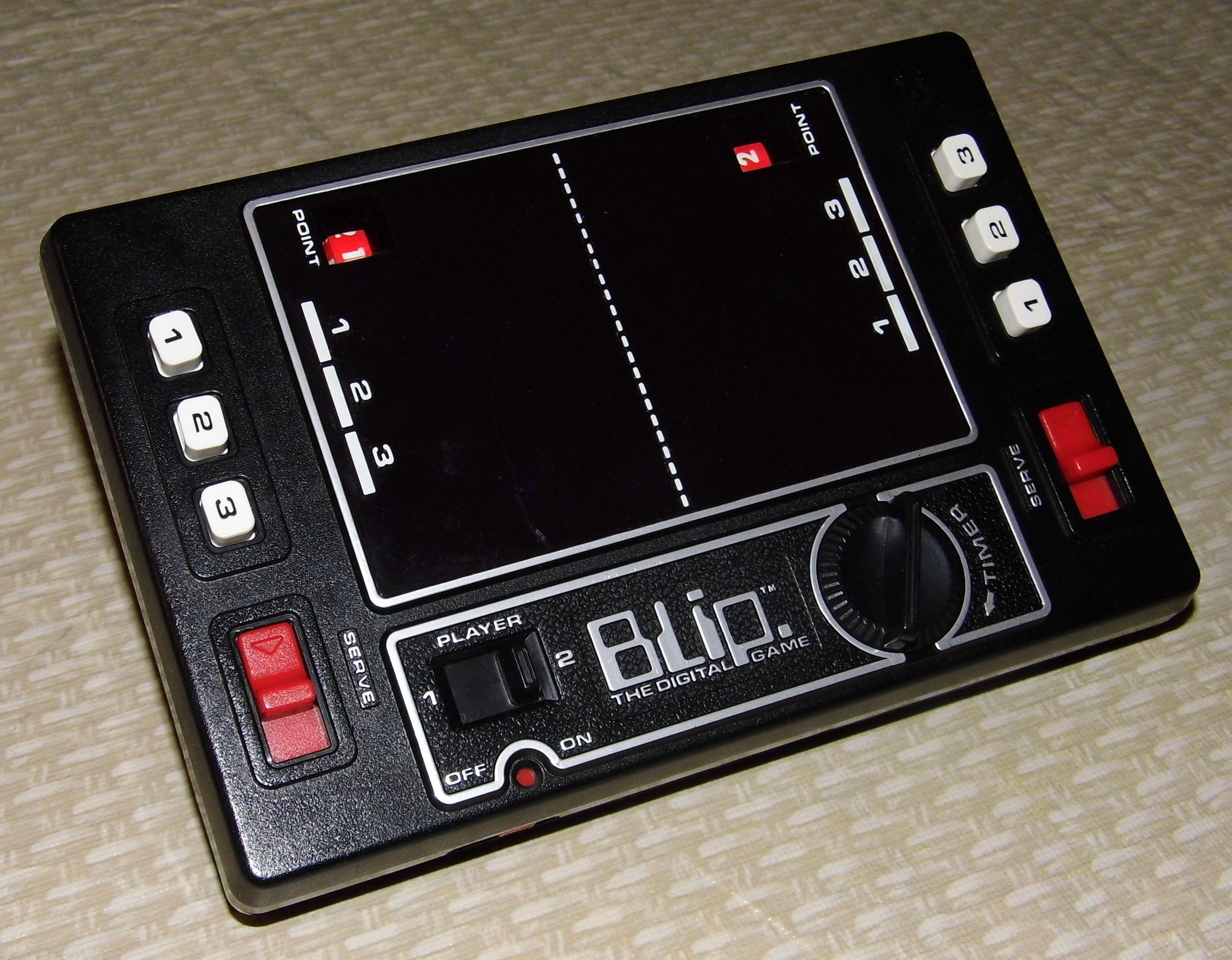 Vintage Blip The Digital Game 1977 Tomy Electronic Game Works