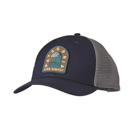 fb79838cf Patagonia Live Simply Breaker Badge Trucker Hat - Navy Blue ...