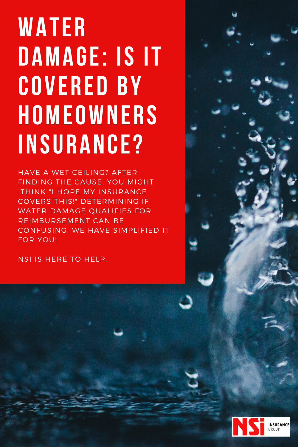 Water Damage Is It Covered By Homeowners Insurance Have A Wet