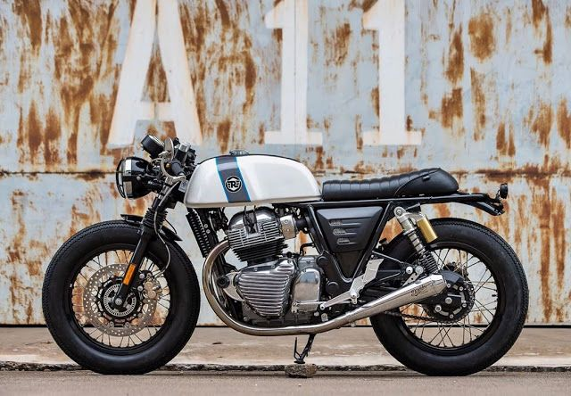 Photo of ϟ Hell Kustom ϟ: Royal Enfield GT650 T100 By K-Speed