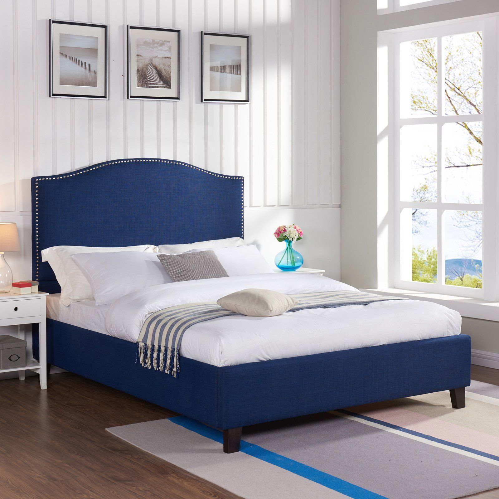 Better Homes and Gardens Grayson Upholstered Platform Bed