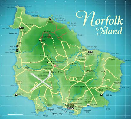a family holiday to Norfolk Island and stay for a month Australia